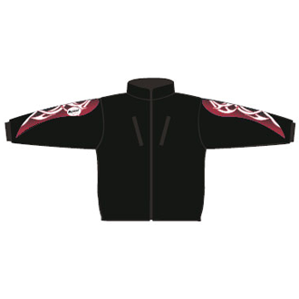 BF41 Race fleece-jacka