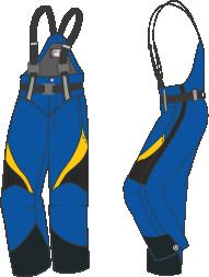 M12 Skal byxa med hängslen Mry-Mye-Mbk-