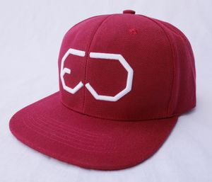 EJ DIVISION - WINE RED SNAPBACK