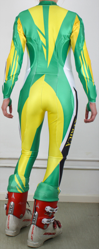 No FIS - South Africa Grön, gul, vit, svart, röd