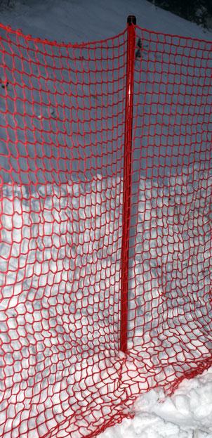 Komplett B-nät 2x20m med käpp+hakar