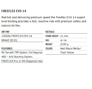 HEAD FREEFLEX EVO 14