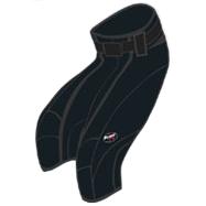 BF44 Långa race fleece-shorts