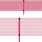 Polyfence-nät 0,6x50m + 16 käpp (C-Nät)