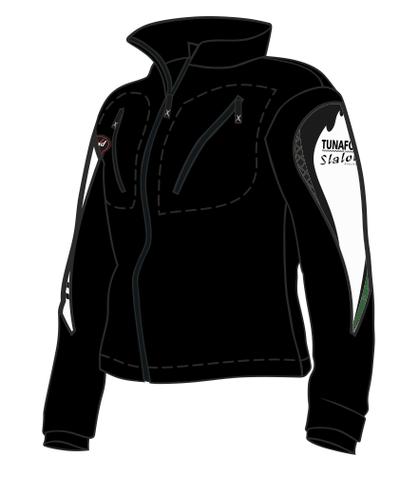 BF41 Race fleece-jacka, med TSK Brodyr på Rygg