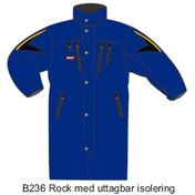 B236 Tränarrock