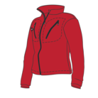 BF40 Race fleece-jacka Rd