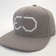 EJ DIVISION - FUNKY GREY SNAPBACK
