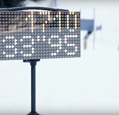 Freelap LED Display 32x16cm