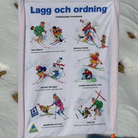 Lagg & Ordning Panel 95 x 115cm