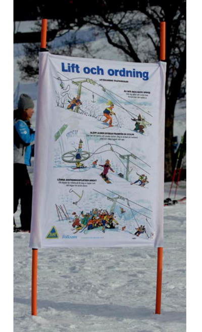 Lift & Ordning Panel 95 x 115cm