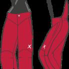 X10 Byxor Hänselbyxor  Röda